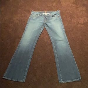 "Woman's "" 7 for all mankind""  jeans size 28"